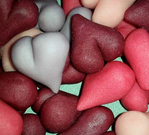 Present i marsipan - marsipangodis med choklad