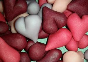 Marsipanhjärtan - Valentine